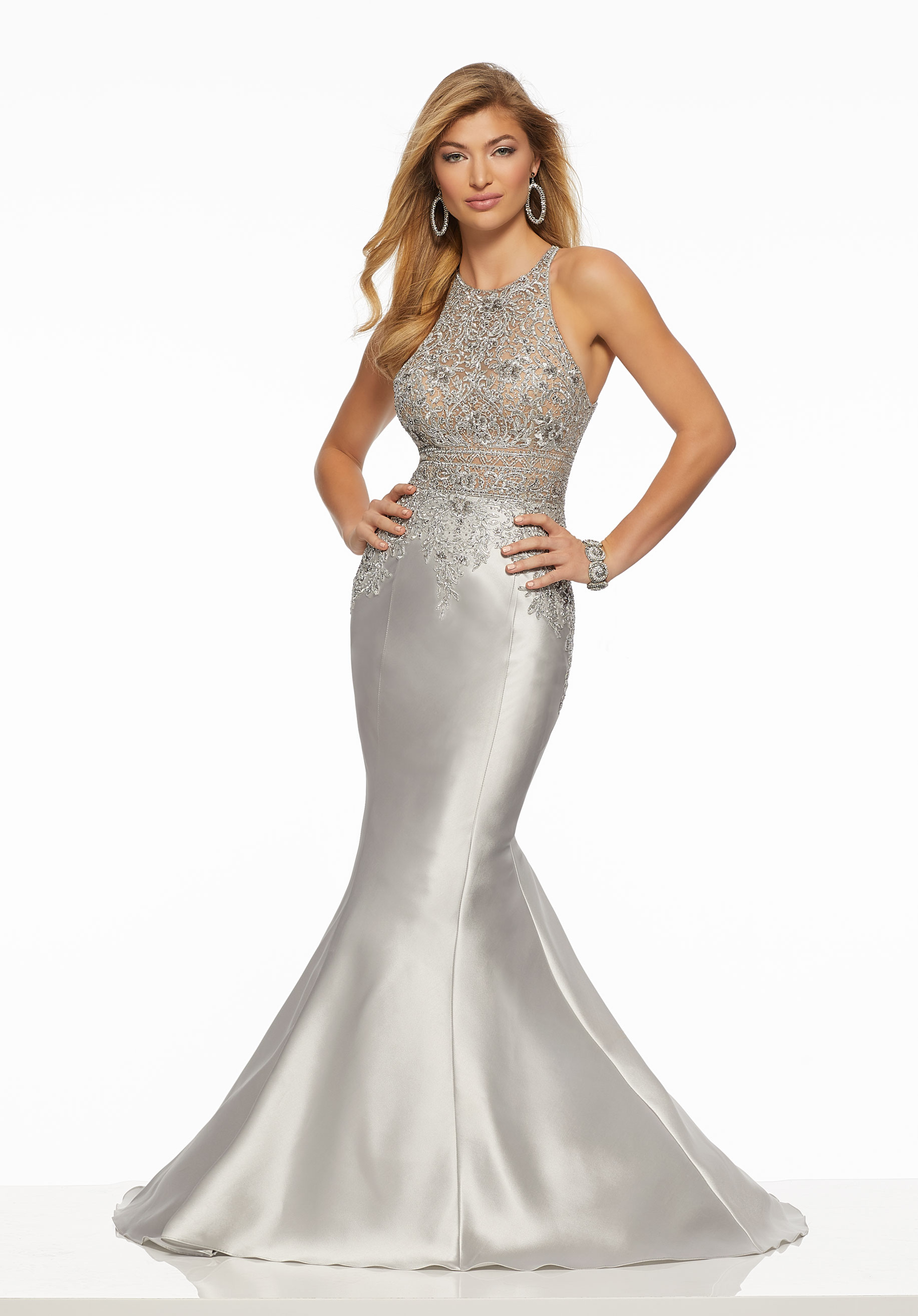 a040ebb2a Mori Lee Style 43069. Mori Lee Style 43069 Sophisticated Larissa satin prom  gown ...